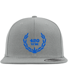 420UK Official Flat peak cap