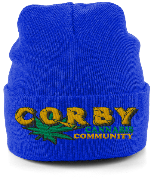 Corby Cannabis Community Cuffed beanie - 420UK