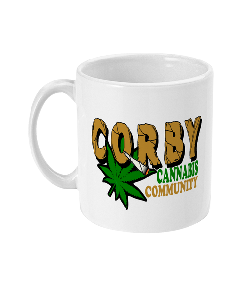 Corby cannabis community Mug - 420UK