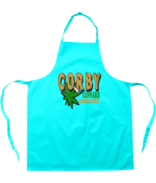 Corby Cannabis Community Apron - 420UK