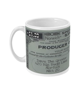 Norwich Producer of MJ Mug - 420UK