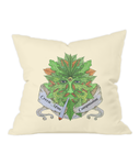 Green man Compassion Cushion - 420UK