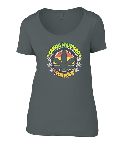 Ladies Canna Mardler Norfolk T-shirt - 420UK