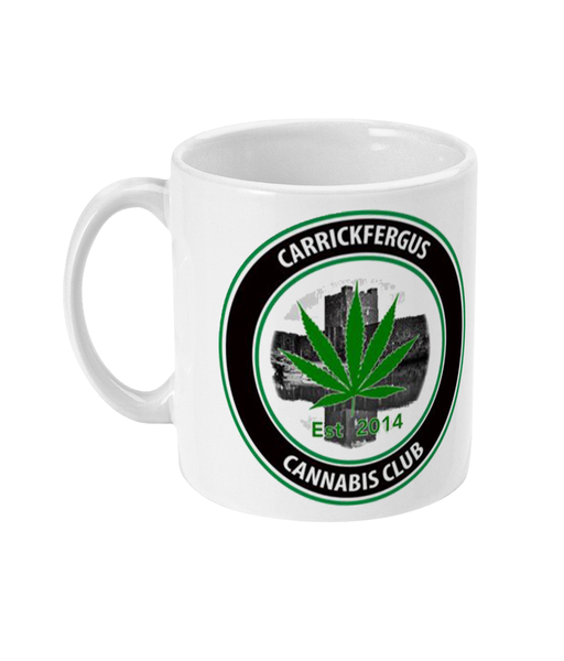 Carrickfergus Cannabis Club Mug - 420UK