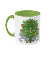 Green man Compassion Two toned Mug - 420UK