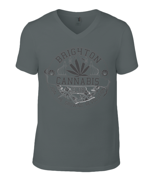 Brighton Cannabis Club T-Shirt - 420UK