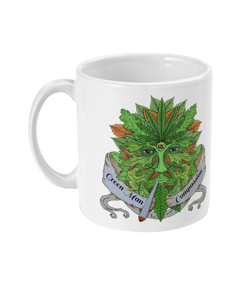 Green Man Compassion Mug - 420UK