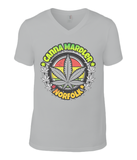 Norfolk Canna Mardler V-neck T-Shirt - 420UK