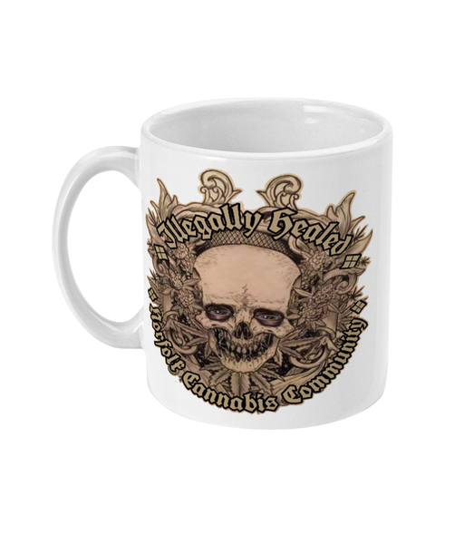 Illegally healed Norfolk Cannabis Community Mug - 420UK