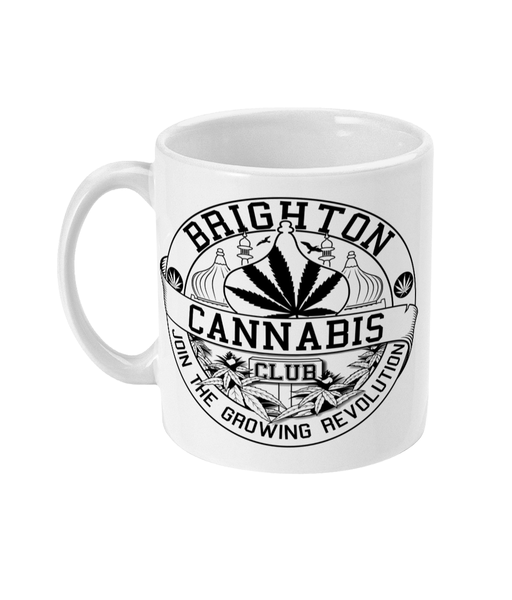 Brighton Cannabis Club Mug - 420UK