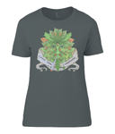 Green man Compassion Ladies T-Shirt - 420UK