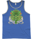 Green Man Compassion Tank Top - 420UK