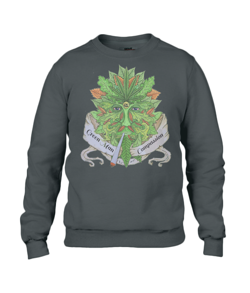 Green man Compassion Jumper - 420UK