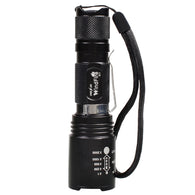 WindFire S11 Tactical Flashlight  Waterproof Cree T6 XM-L2 LED Zoomable Torch