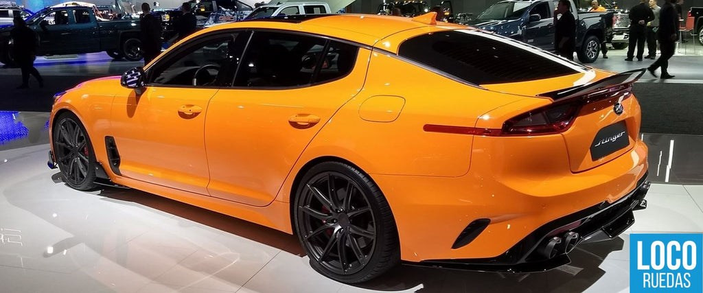 Kia Stinger GT 2018 Modificado Vídeo