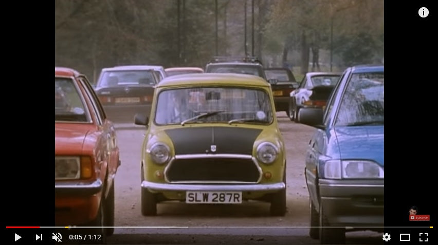 Vídeo Intento de Estacionamiento del Mini de Mr. Bean