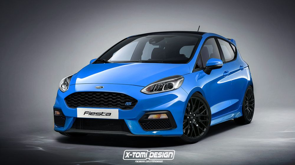 Ford Fiesta RS frente