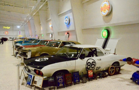 Museo de autos de colleccion muscle cars - Chevrolet Corvair