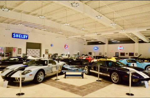 Museo de autos de colleccion muscle cars - Ford GT-40