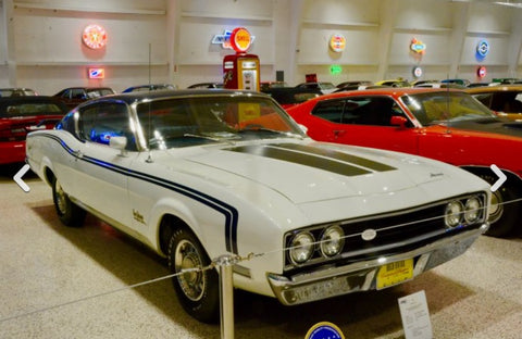 Museo de autos de colleccion muscle cars - Mercury Cyclone