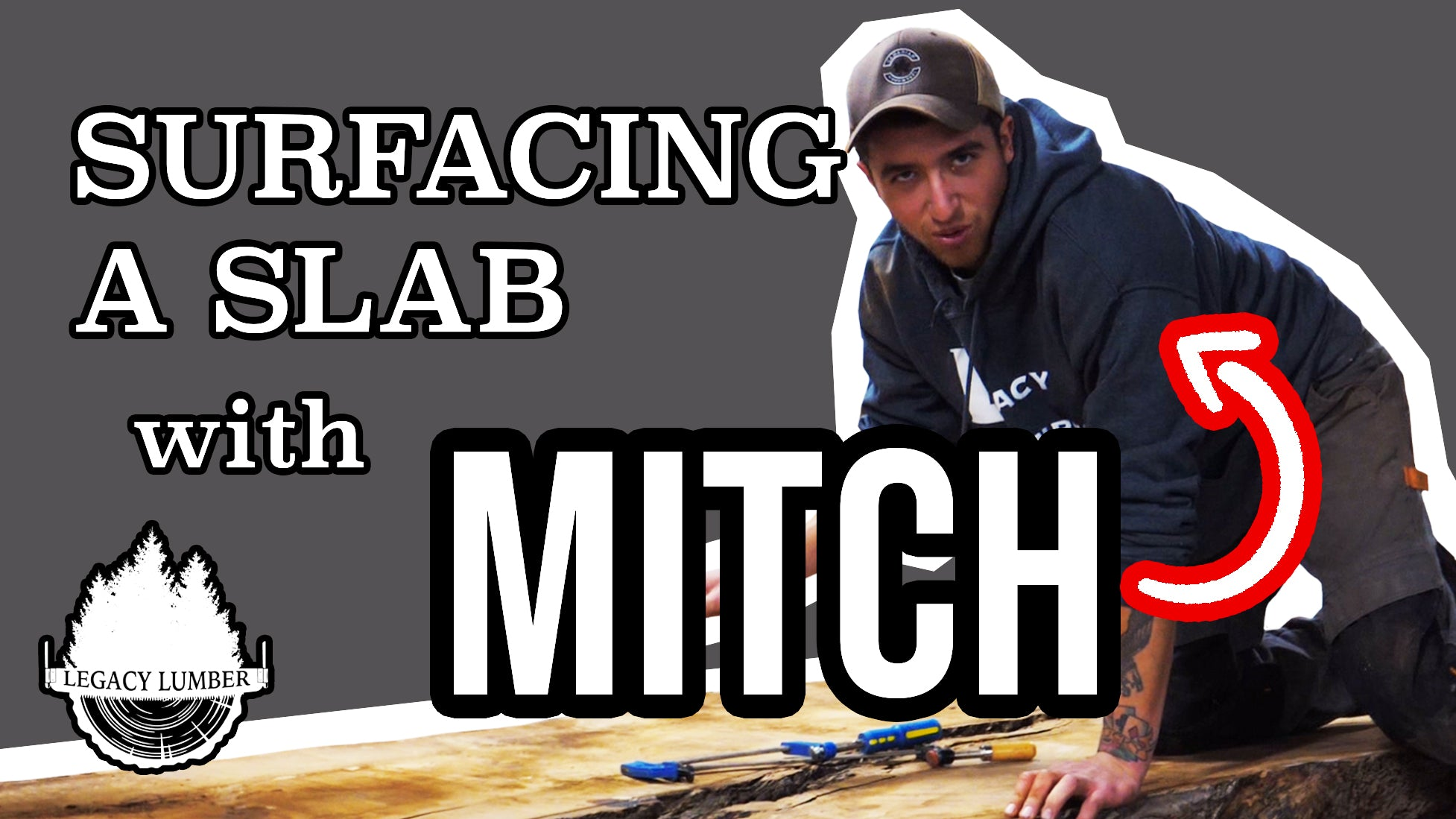 Surfacing a Slab with Mitch using our CNC Router