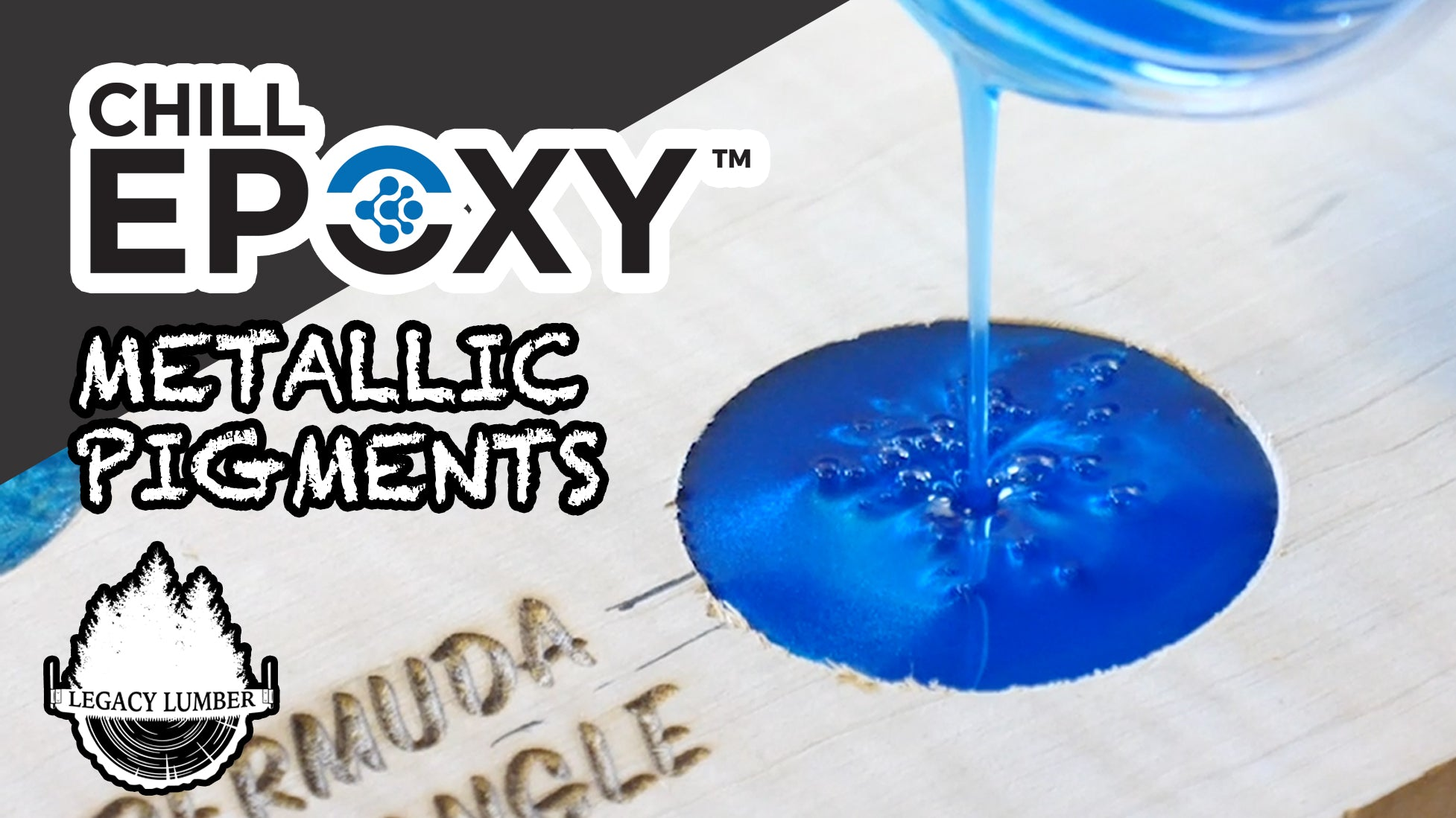 Check out the Chill Epoxy Metallic Pigments... VIDEO!