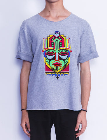 Green Mask Short Sleeves Sweatshirt