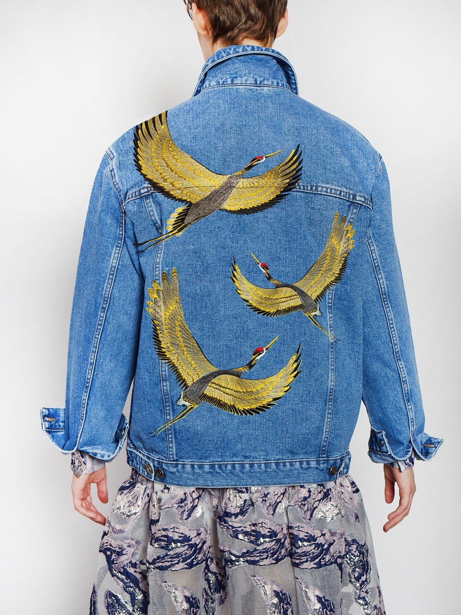 Cranes Denim Jacket