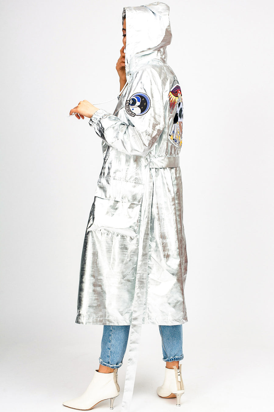 Cow Hooded Summer Coat