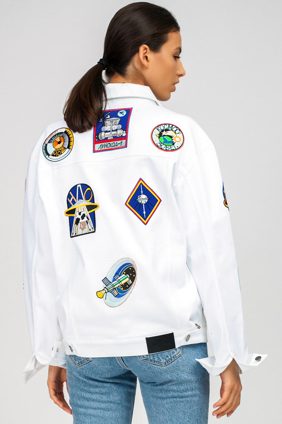Multi-Space Denim Jacket