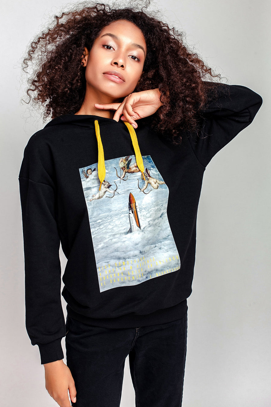 Rockets & Angels Hooded Sweatshirt