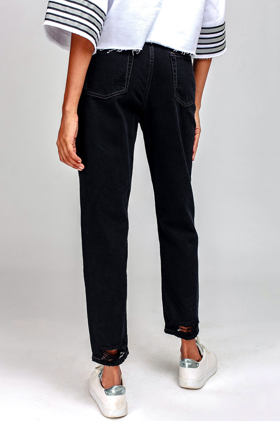 Multi-Space Crop Jeans