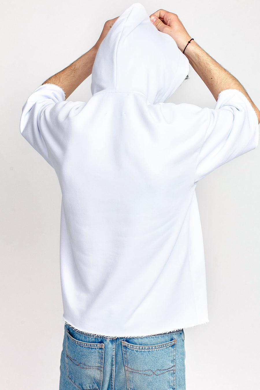Capsule Hooded Short Sleeve Sweatshirt