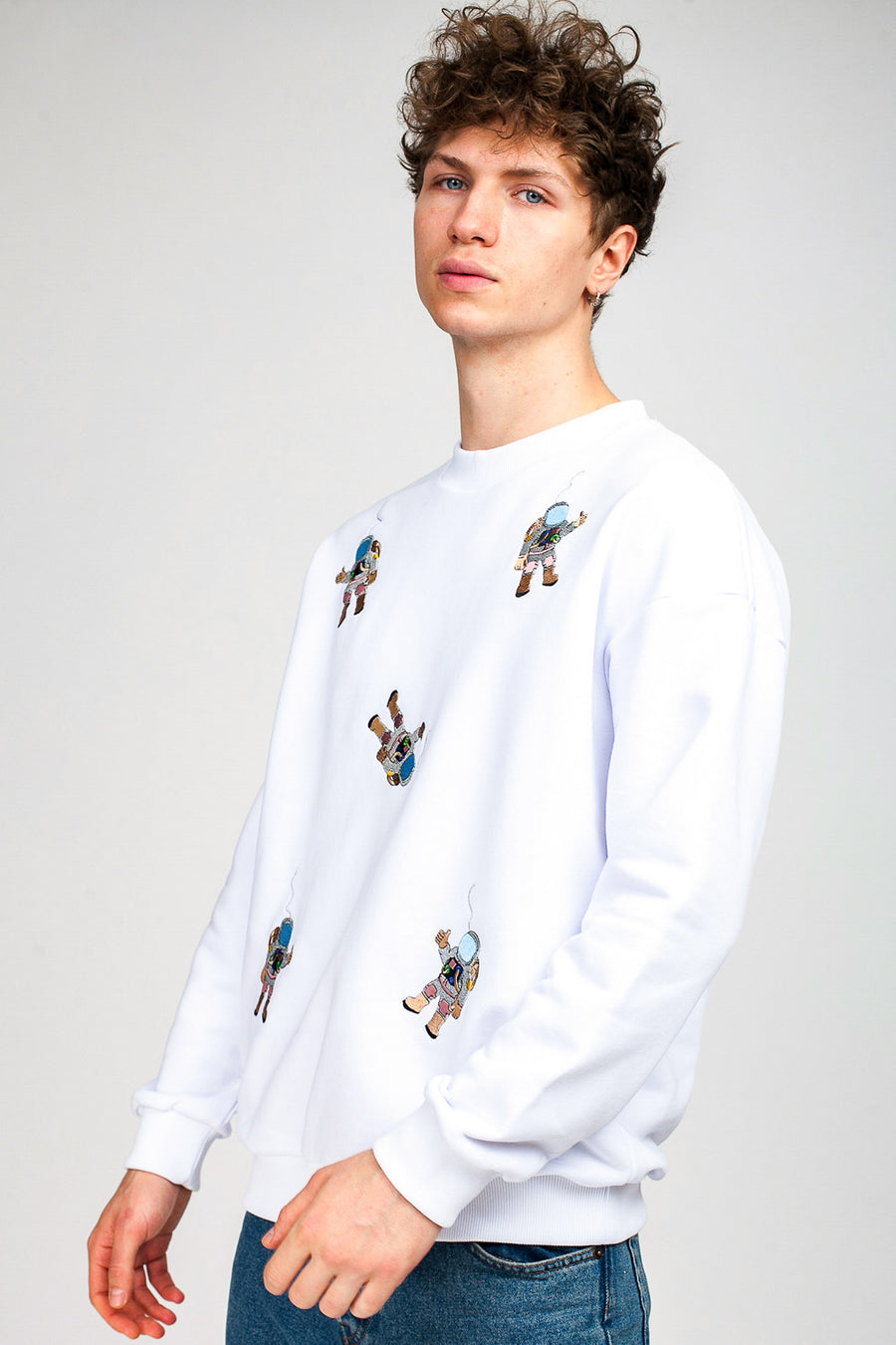 Multi Spacemen Sweatshirt