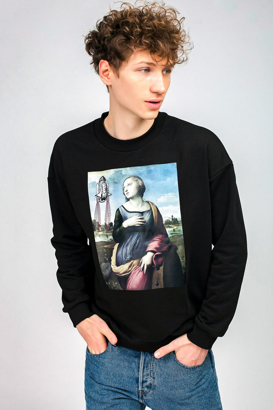 Saint Catherine & Rocket Sweatshirt