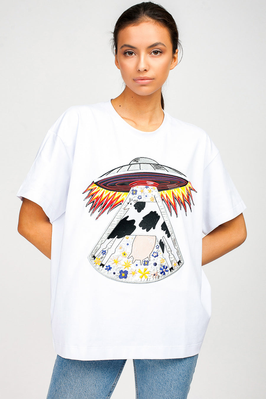 Cow Oversized T-Shirt
