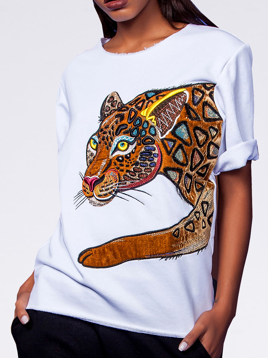 Jaguar Short Sleeves Sweatshirt
