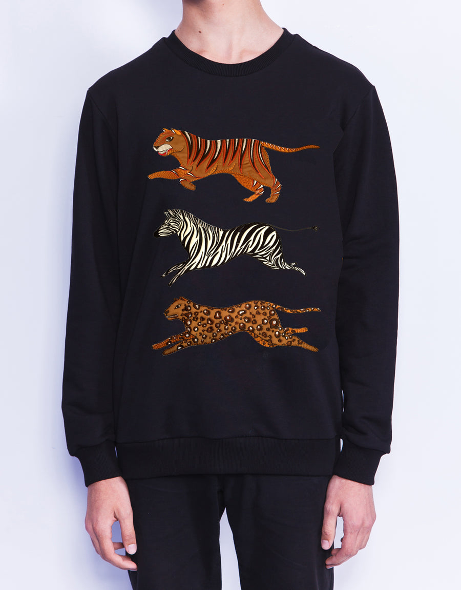 Multi Animals Sweatshirt