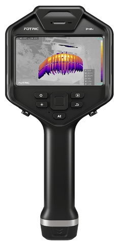 Fotric 348A-L25 - Advanced Handheld Thermal Imager with 25 Degree Lens (640 x 480 Resolution)
