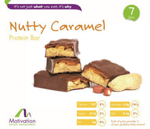 Nutty Caramel Bar