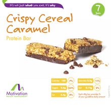 Crispy Cereal Caramel Bar
