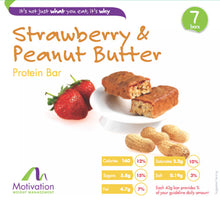 Strawberry & Peanut Butter Bar
