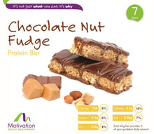 Chocolate Nut Fudge Bar