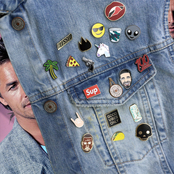 Lapel Pin Fashion Pin Personality that Pops - Pins by Ferris