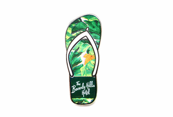 The Beverly Hills Hotel flip flop pin