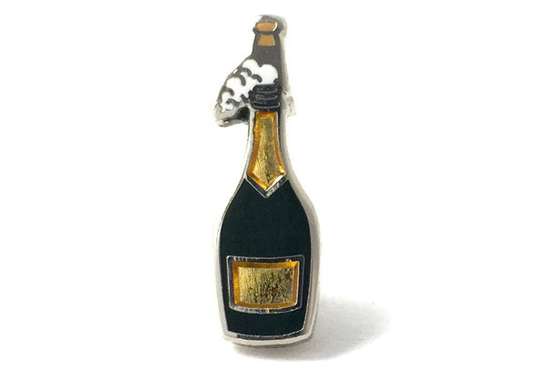 Champagne Bottle emoji pin