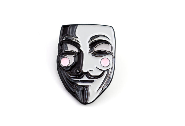 Guy Fawkes Mask Pin