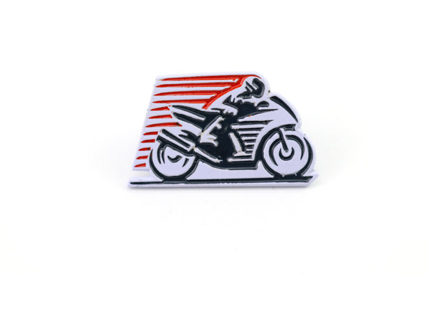 vintage motorcycle pin