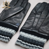 Privately Customized Series Fashion Edition Italian Imported Lambskin Men's Fine GlovesM-30.1