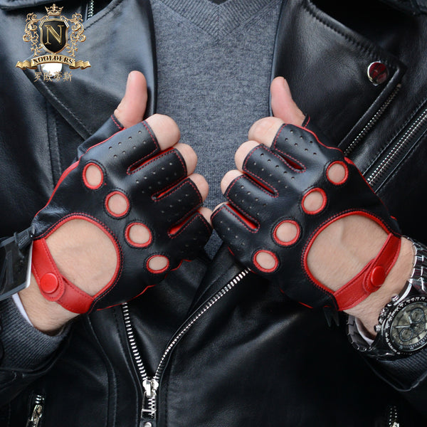 Men's half-finger motorcycle gloves, sports gloves, Harley motorcycle glovesM-52